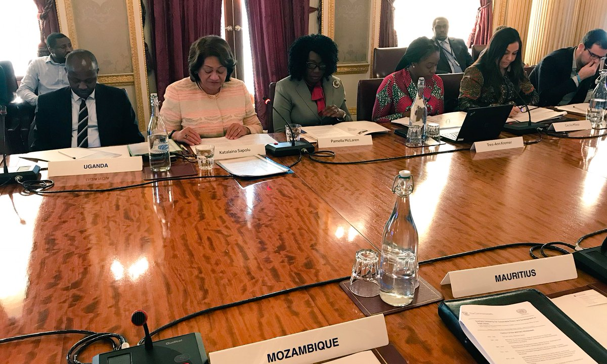 The #Commonwealth Secretariat's Katalaina Sapolu, Senior Director, Governance and Peace states the relationship between '@commonwealthsec and @UNOSSC is an excellent fit. Heads at #CHOGM2018 highlighted that peace and sustainable development go hand in hand'