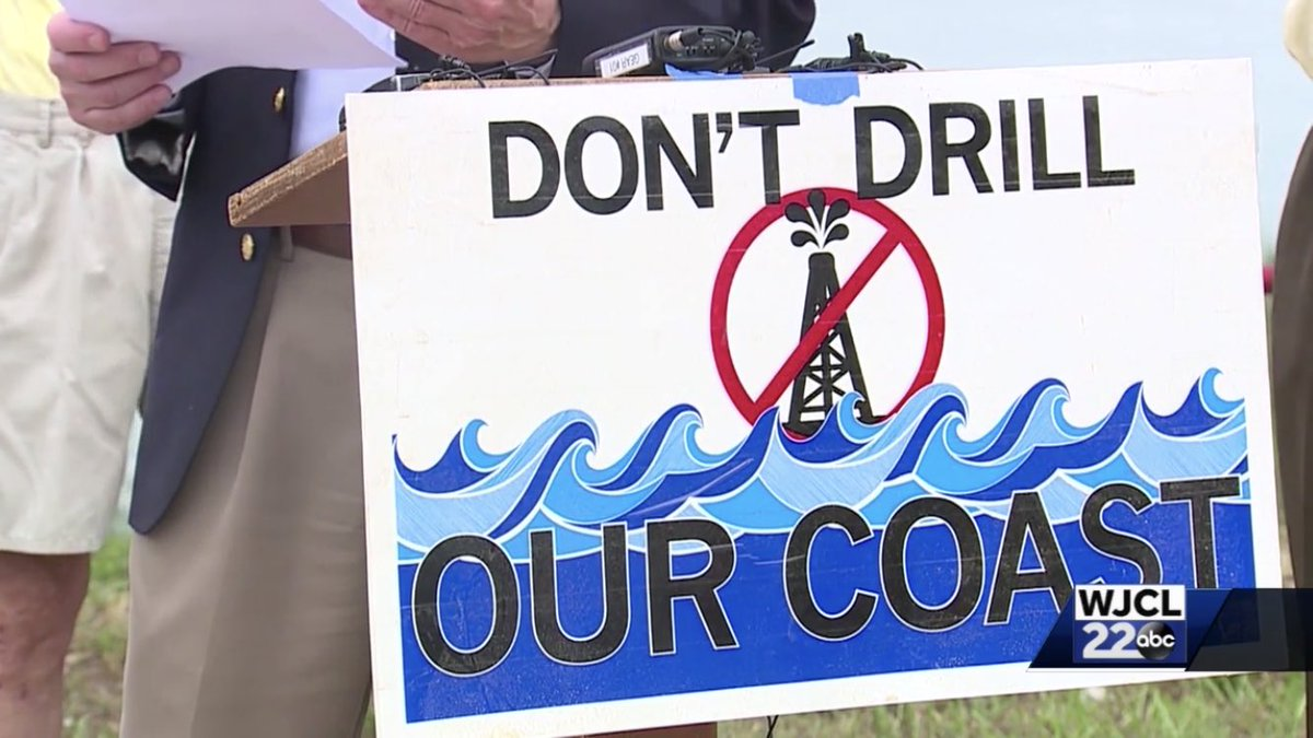 I'm back! And this morning, I'm telling you how Lowcountry leaders plan to take a stand against offshore drilling. Look for my LIVE reports on @WJCLNews. We're on 'til 7 a.m.. <br>http://pic.twitter.com/wlCgsB0Uu3
