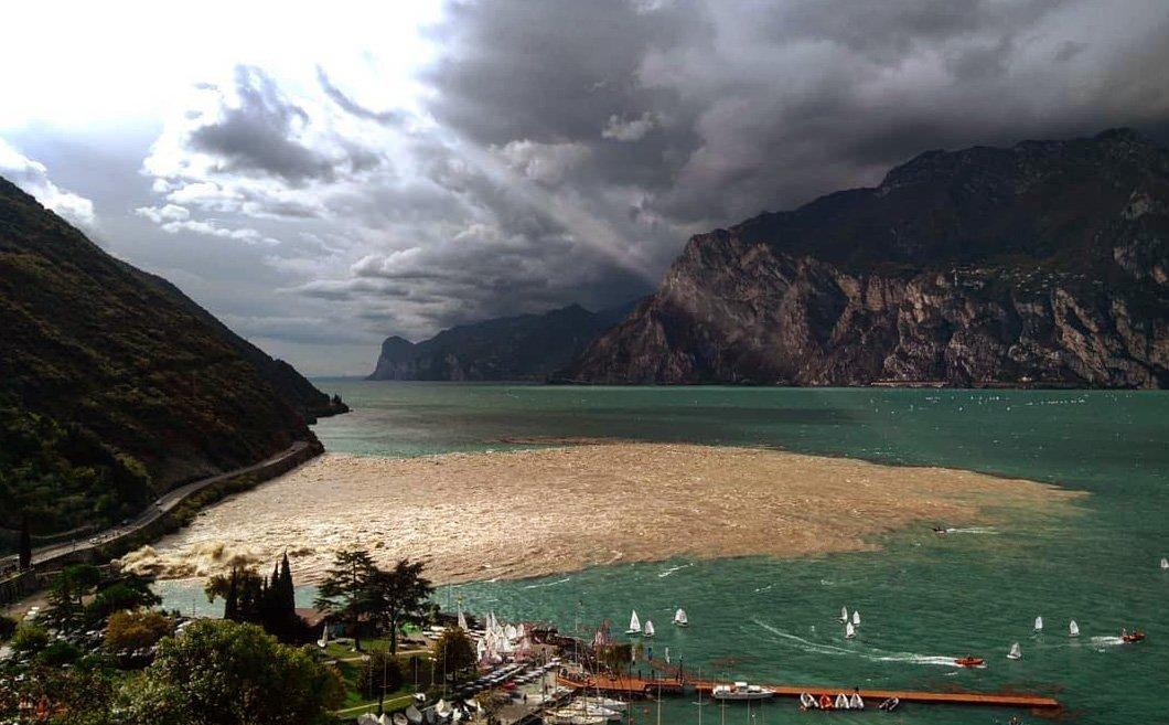 #Verona Dopo l'onda di fango dell'Adige le ana...