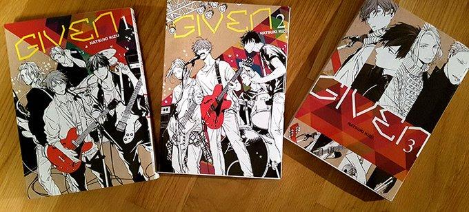 📚 Découverte manga : #Given m'a touché en plein cœur 🎶🎸💔 cc @TaifuComics #MardiConseil ⬇️⬇️ Photo