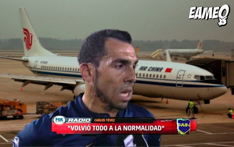Lucho's photo on Tévez