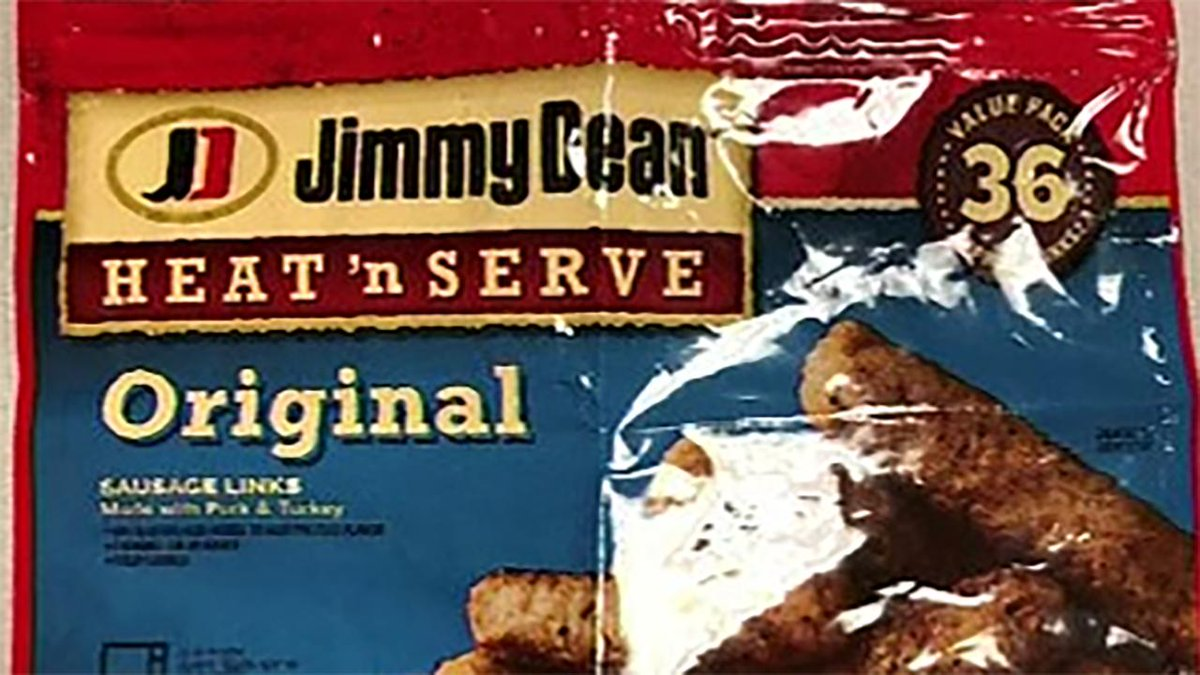 RECALL ALERT: 29,000 pounds of Jimmy Dean sausage links recalled due to possible metal pieces https://t.co/gA7yEh3hCm