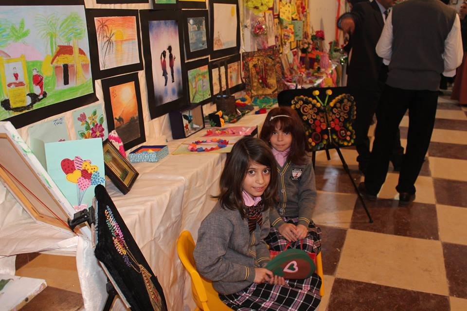 test Twitter Media - Two students at our #Basra school for orphans have taken part in a local art exhibition this week.   AMAR provides a broad education for its pupils and creativity is an essential part of that. #CharityTuesday https://t.co/5pzFbgCtVd