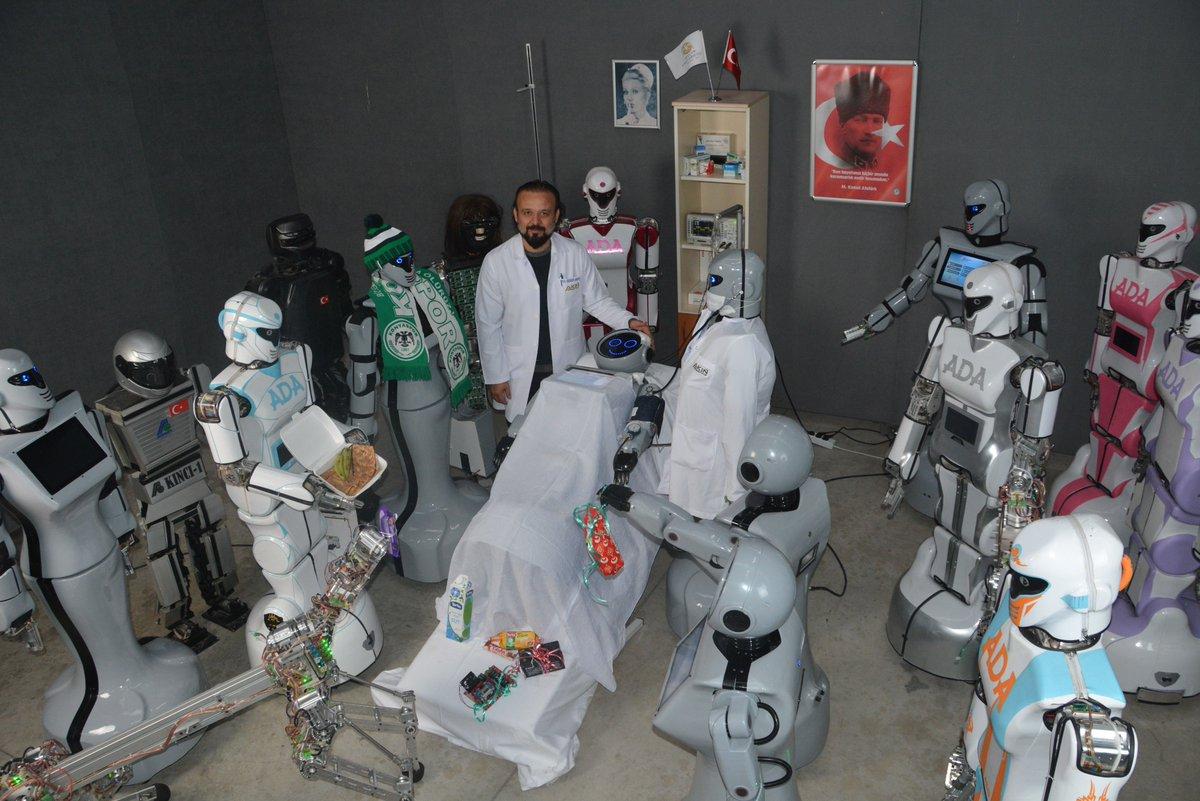Konyalın robot Mini Ada'ya arkadaşlarından ziyaret... Konyaspor'un durumunu sordu cumhuriyet.com.tr/haber/turkiye/…