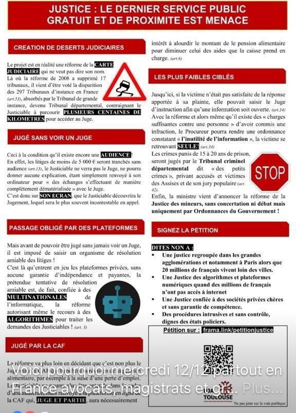 Il est essentiel que tous les #avocats parisiens soient mobilisés aux côtés des avocats des barreaux dÎle-de-France mercredi à 11h place du Châtelet avec les magistrats, greffiers et personnels de justice pour unité contre le #PJLJustice : volet pénal, territoires, CAF...