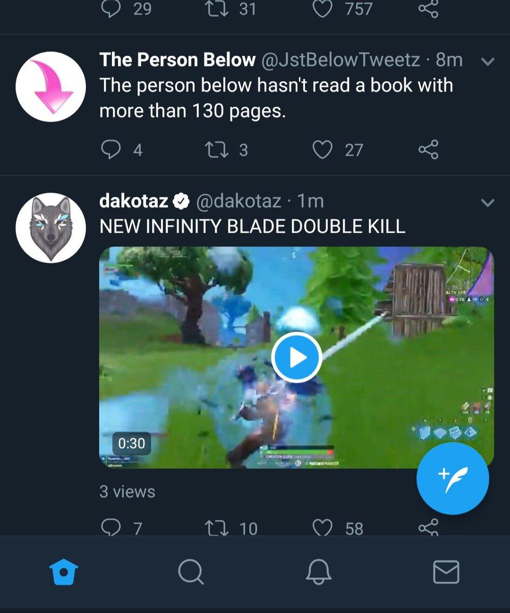 Dakotaz On Twitter New Infinity Blade Double Kill