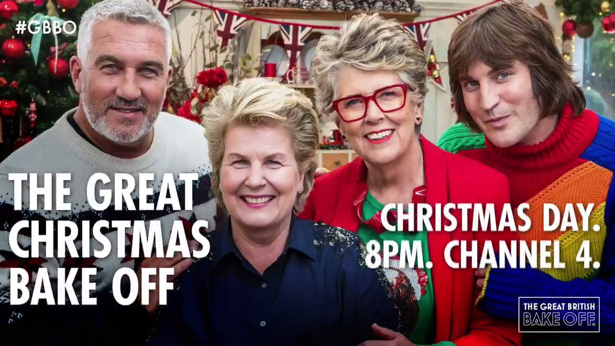 On your marks, get set... put down the sprouts! Bake Off is riding down your chimneys and onto your tellies for two festive specials! #GBBO