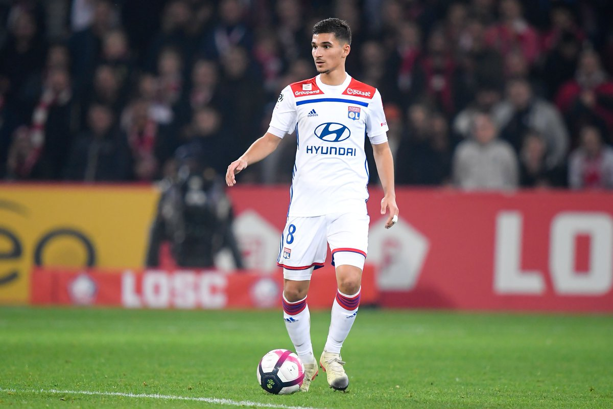 Arsenal are keen on signing Lyon midfielder Houssem Aouar for a reported £36m - Unai Emery sees the Frenchman as an ideal replacement for Aaron Ramsey. [Various]