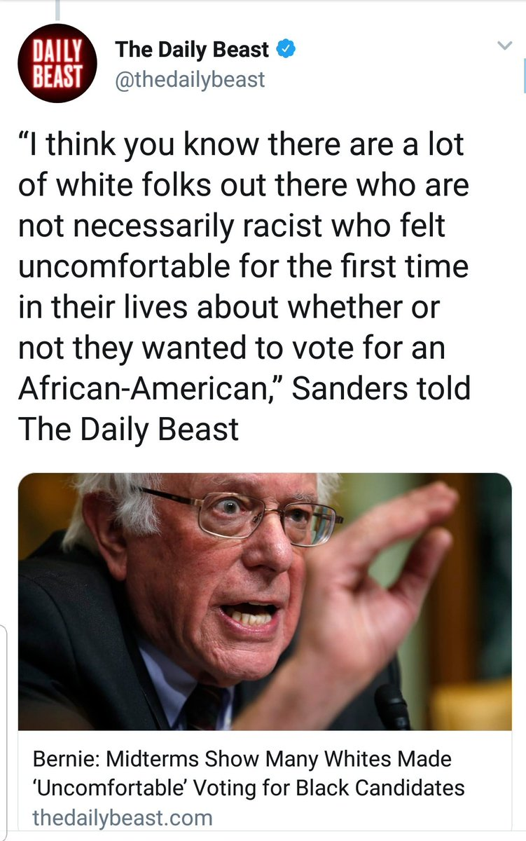A thread of fucked up shit Bernie Sanders has said