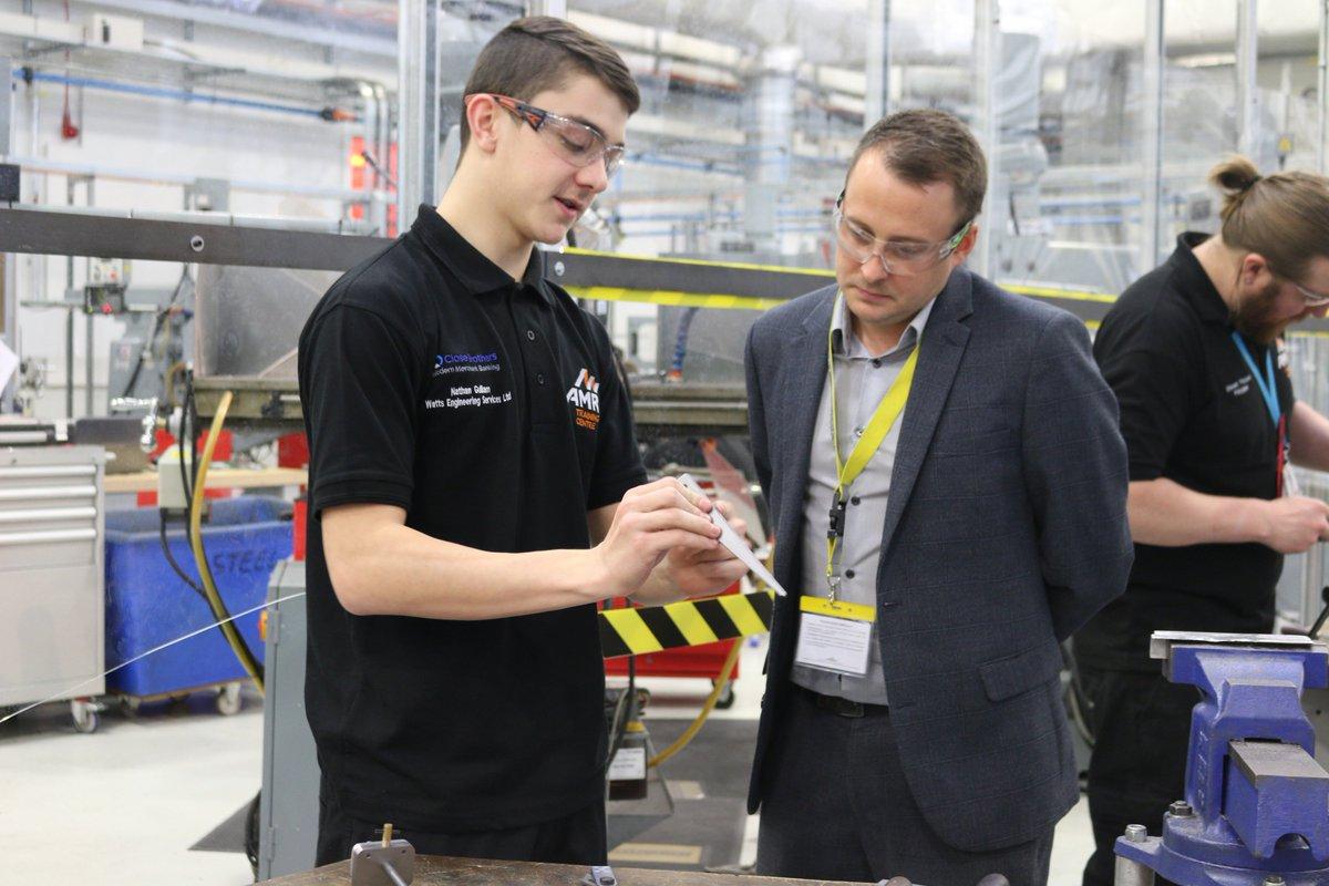 Sulzer invests in fresh talent with apprentice scheme process.