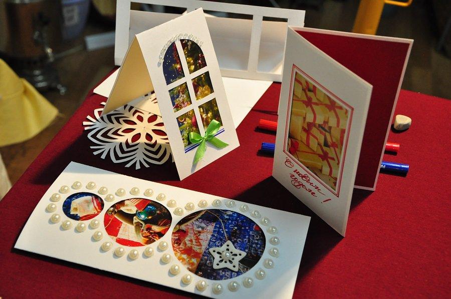 Разработка макета открытки
