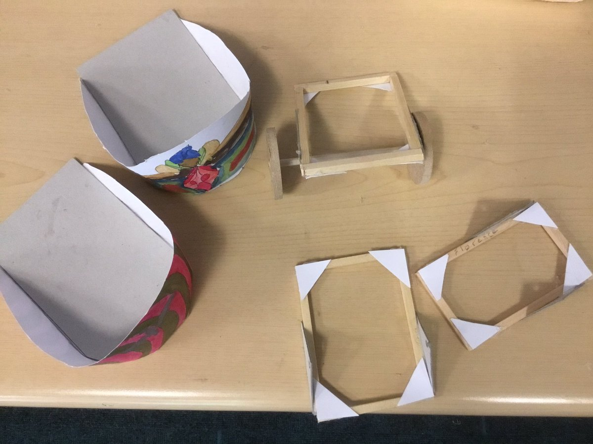 test Twitter Media - Our Roman chariots have a good strong base. The carriage is taking shape too! #gorseystem #gorseydt https://t.co/SZSie33T6f