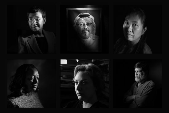 Time magazine has just named journalists who have been targeted for their work as its 2018 Person of the Year -- specifically, Jamal Khashoggi, the Capital Gazette, Maria Ressa, Wa Lone and Kyaw Soe Oo.