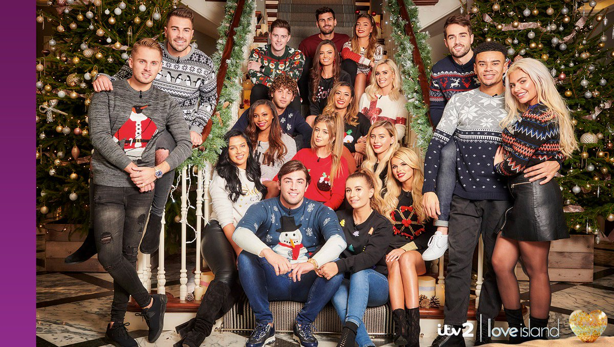 Reunited At Christmas.Love Island On Twitter Our Islanders Are Reunited For