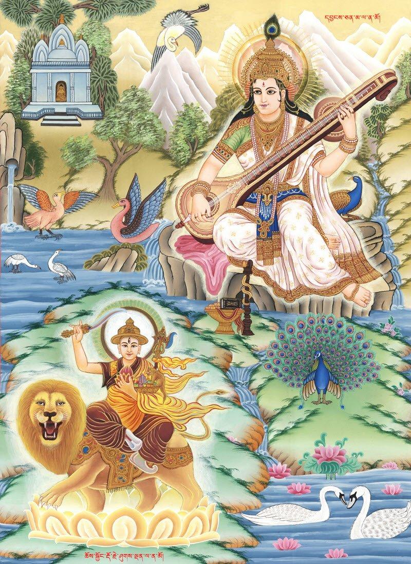 For My Hindu Friends-Stunning painting of Goddess Saraswati to download for free in HD- https://bit.ly/2G81FSj  #ICYMI #Dharma #Buddha #tsemtulku #MustWatch #buddhabless #FridayFeeling  #TsemRinpoche #FlashbackFriday #healing  #yogalife #inspirational  #mumbai #goa #HinduCharter