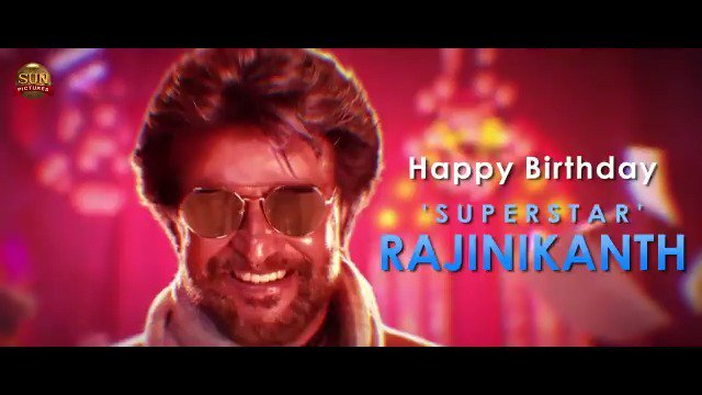 Happy Birthday to our One and Only Superstar @Rajinikanth ! #PettaBirthdayTrEAtSER Today at 11am!  #HappyBirthdaySuperstar #HBDSuperStarRajinikanth