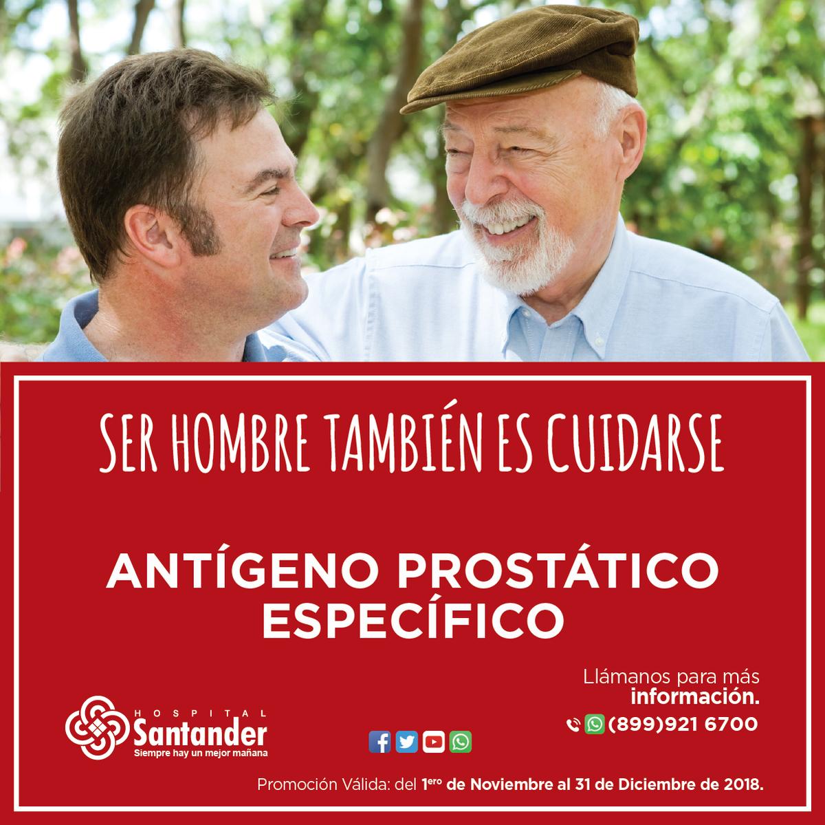 Optimidad de los valores de antígeno prostático específico