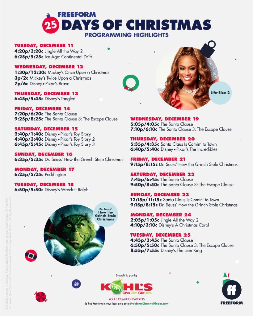 25 Days Of Christmas.25 Days Of Christmas 25days Twitter