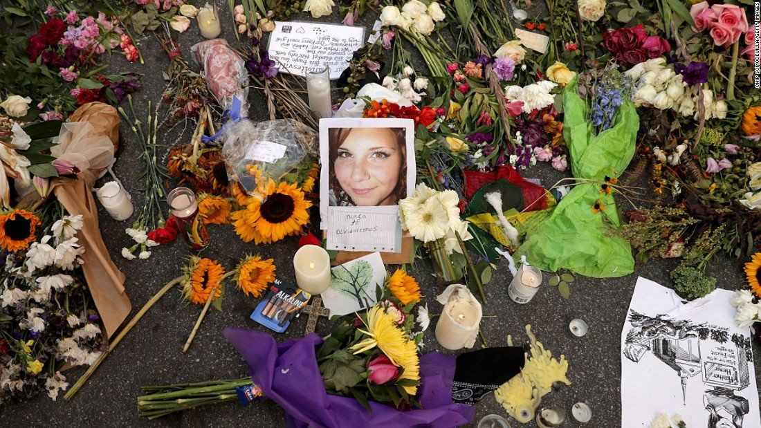 A jury wants the man convicted of killing paralegal Heather Heyer during a white nationalist rally in Charlottesville to serve life in prison on the murder charge  https:// cnn.it/2Eqac1o  &nbsp;  <br>http://pic.twitter.com/O2SH3nC6zO