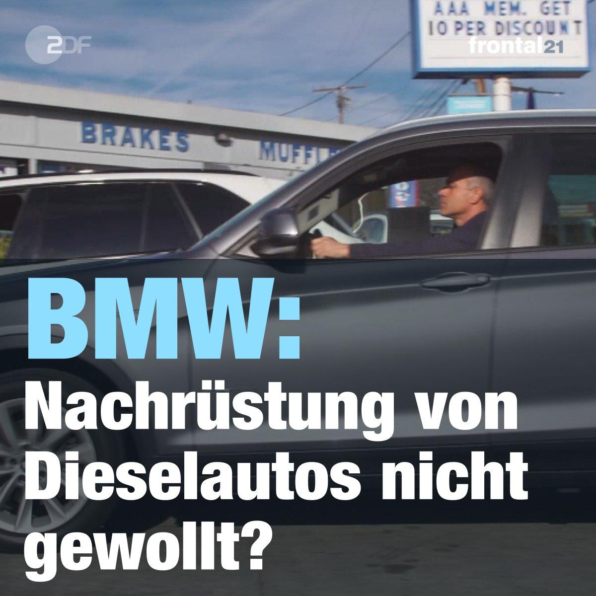 Frontal21 On Twitter Als Einziger Deutscher Autobauer Lehnt Bmw