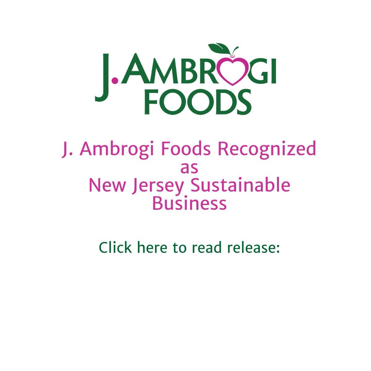 J  Ambrogi Foods on Twitter: