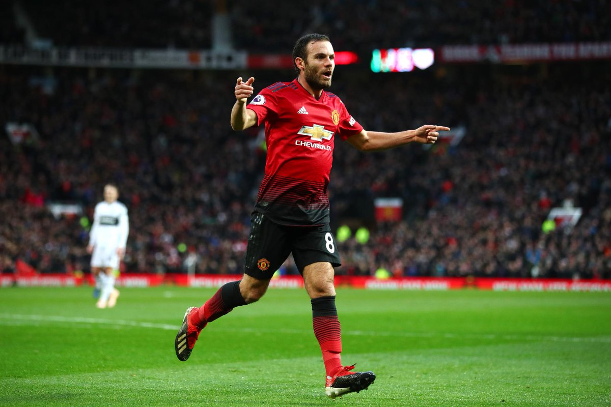 The third Spanish player to reach 50 #PL goals and assists - @juanmata8 👏  Can you name the other two? 🇪🇸  ➡️ http://preml.ge/iHwTOF