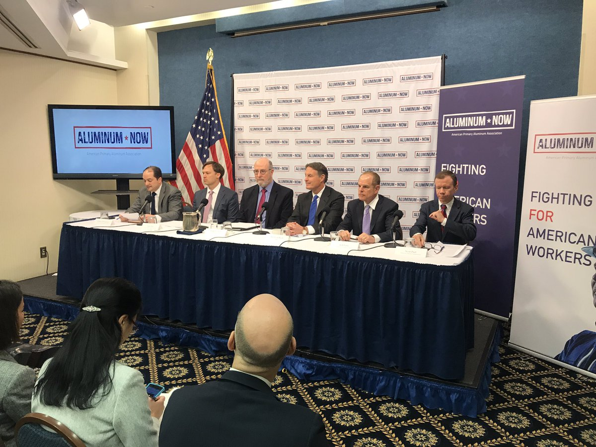 test Twitter Media - APAA event kicking off today with US Senator Evan Bayh, Rob Scott from the Economic Policy Institute and thought leaders on the impact of the aluminum tariffs #aluminum now https://t.co/94mGvv16lu