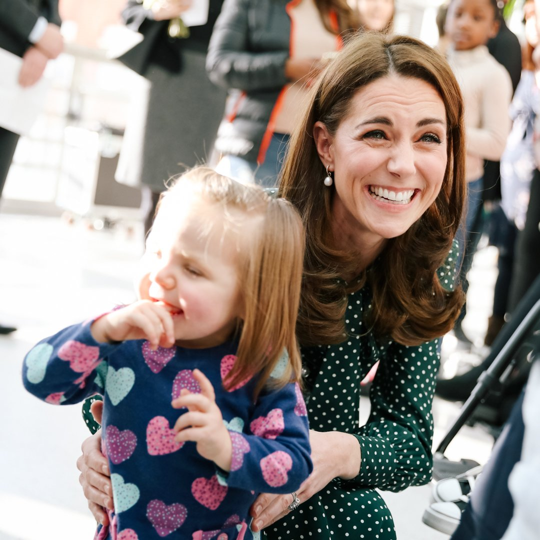 It's a real privilege to be part of this organisation, and I look forward to many happy years ahead. — The Duchess of Cambridge, today announced as @EvelinaLondon Patron.