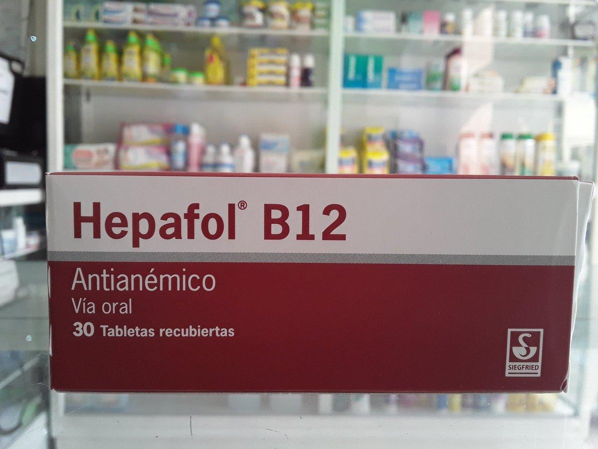hepafol b12 para que sirve
