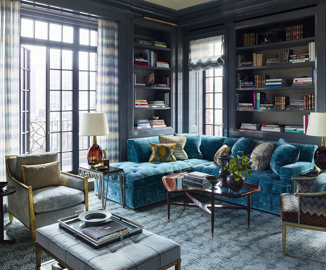 Home for the holidays. In STEVEN GAMBREL: PERSPECTIVE, Gambrel showcases his classical approach injected with contemporary touches and vibrant color, creating spaces for today rooted in the past: bit.ly/2Qhk2cv