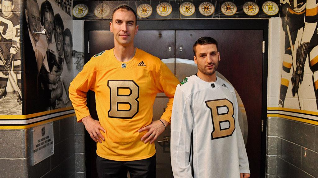 d363f0c08bc Introducing the 2019 Bridgestone NHL Winter Classic Bruins official  practice jerseys