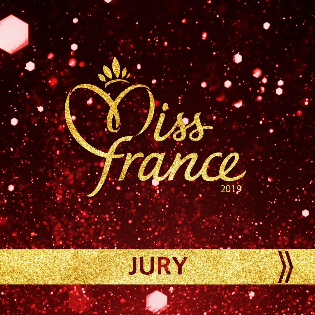 Cette année, les 30 candidates au titre de Miss France 2019 vont devoir convaincre les téléspectateurs mais aussi le jury exclusivement féminin de la compétition : présidé par @linerenaud, il sera composé de l'humoriste et comédienne @ClaudiaTagbo, la chanteuse @JeniferOfficiel