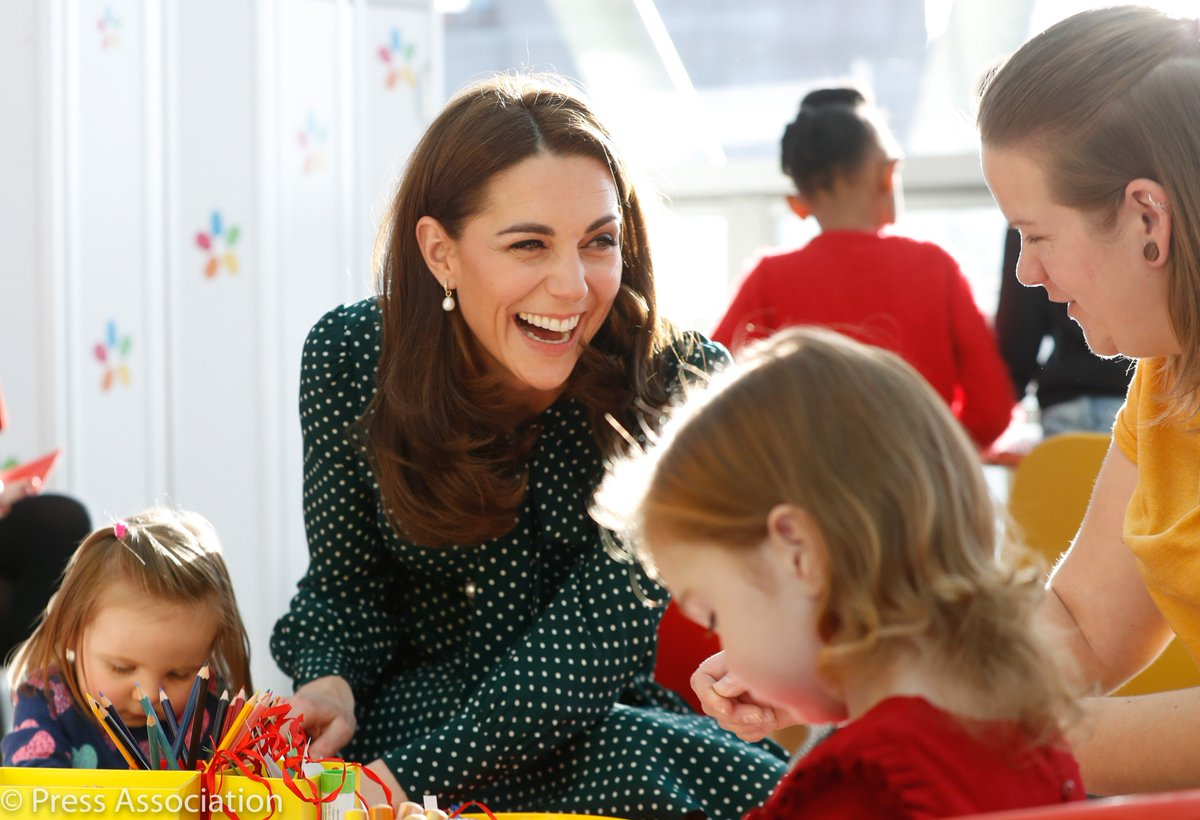 Their Royal Highnesses joined children @EvelinaLondon as they take part in a number of Christmas-themed activities, before joining celebrations to mark the 150th anniversary of the founding of the hospital.