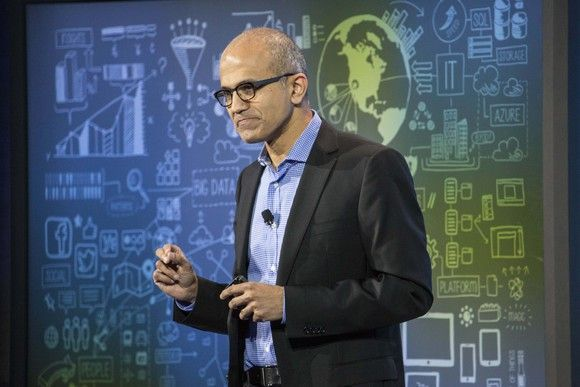 Microsoft's Satya Nadella ranked as best CEO in US; Google's Sundar Pichai, Amazon's Jeff Bezos make top 10 https://t.co/wjhZyCXRGO