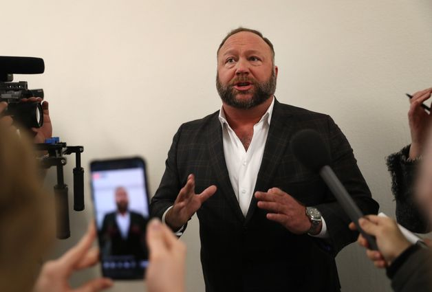 Far-right conspiracy theorist Alex Jones is outside the hearing, and he shouted at Pichai about China as the CEO entered: 'You bet on the wrong country, Sundar!'