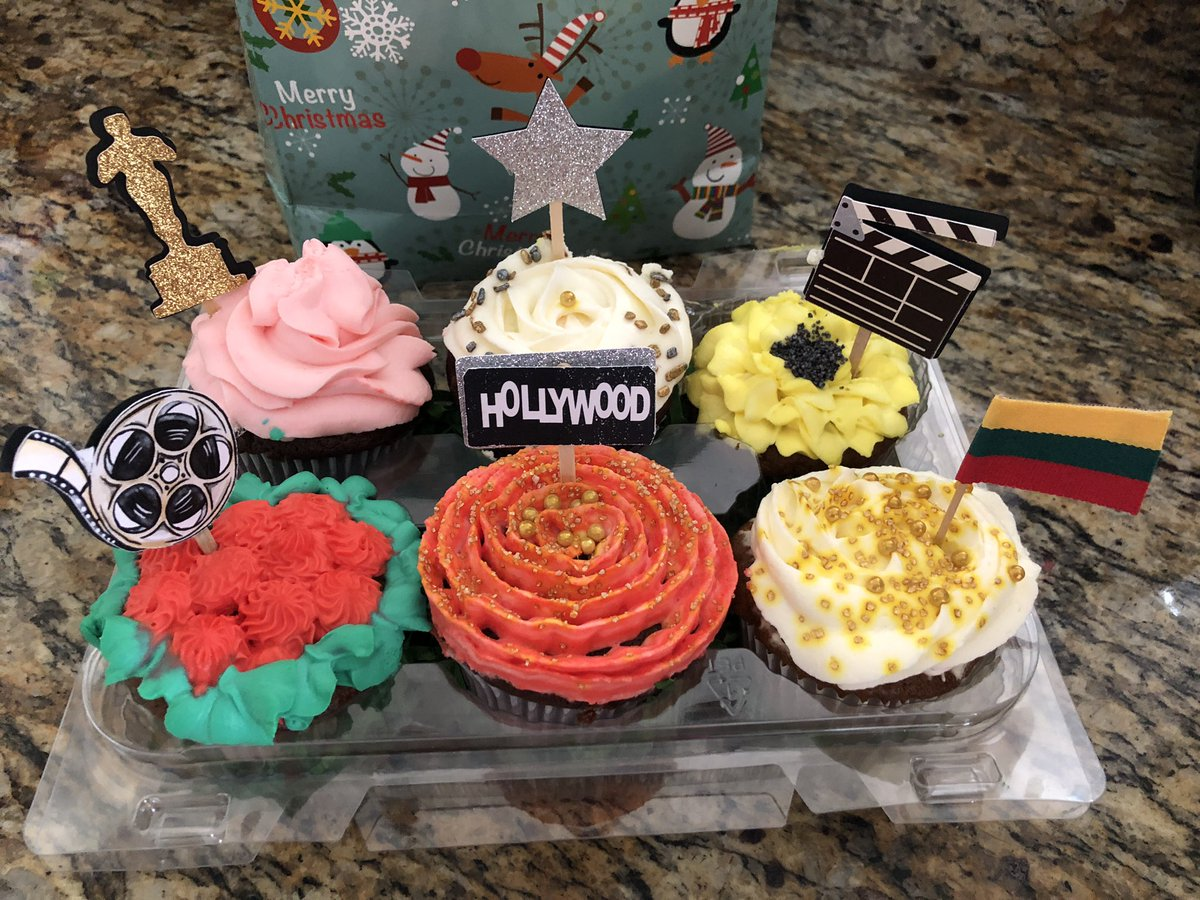 test Twitter Media - TOMORROW IS MY BIRTHDAY 🎉❤️🥰🙌🏽🍰 Look what an amazing sweet present I just got 🧁🥰😍 #birthdaygirl #birthday #cupcakes #hollywood #movies #oscars #lithuania https://t.co/jPTzPDnwtv