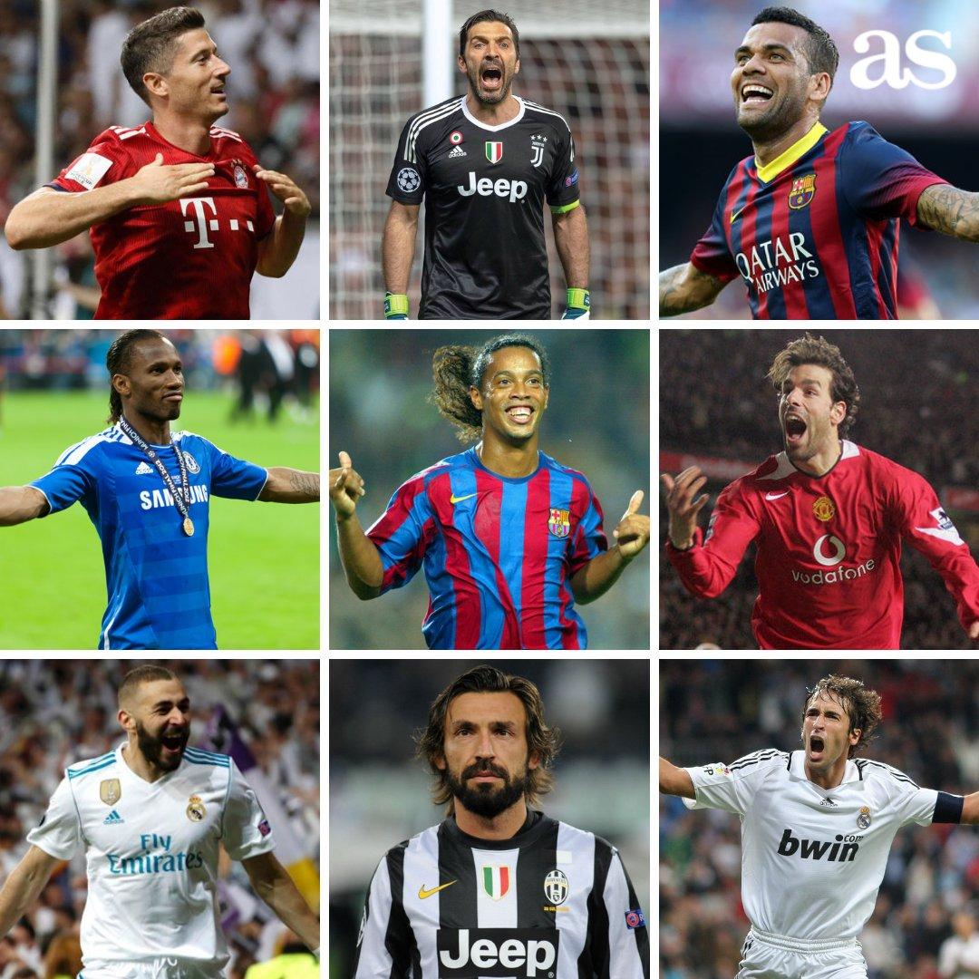 📋 XI histórico de la UEFA: Casillas; Ramos, Piqué, Puyol, Lahm; Xavi, Iniesta, Gerrard; Henry, Cristiano y Messi 🔄 ¿Qué cambios harías?