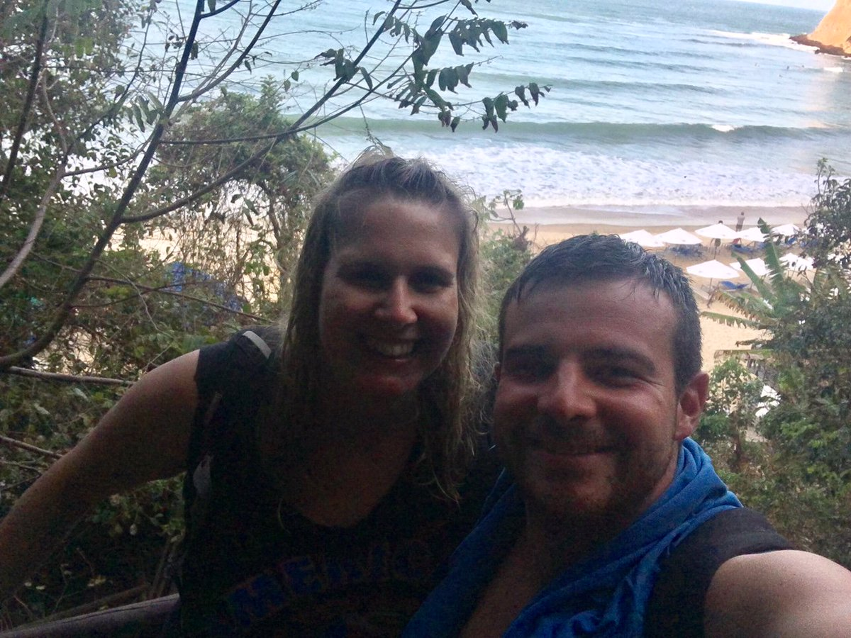 Not the best quality photo, but I love it because my husband had learned to surf that day, I'd swum with wild dolphins, and we were both just completely, blissfully content! #Brazil #PraiaDaPipa #PraiaDoMadeiro #honeymoon #TravelTuesdaypic.twitter.com/VqMxfVwAKO
