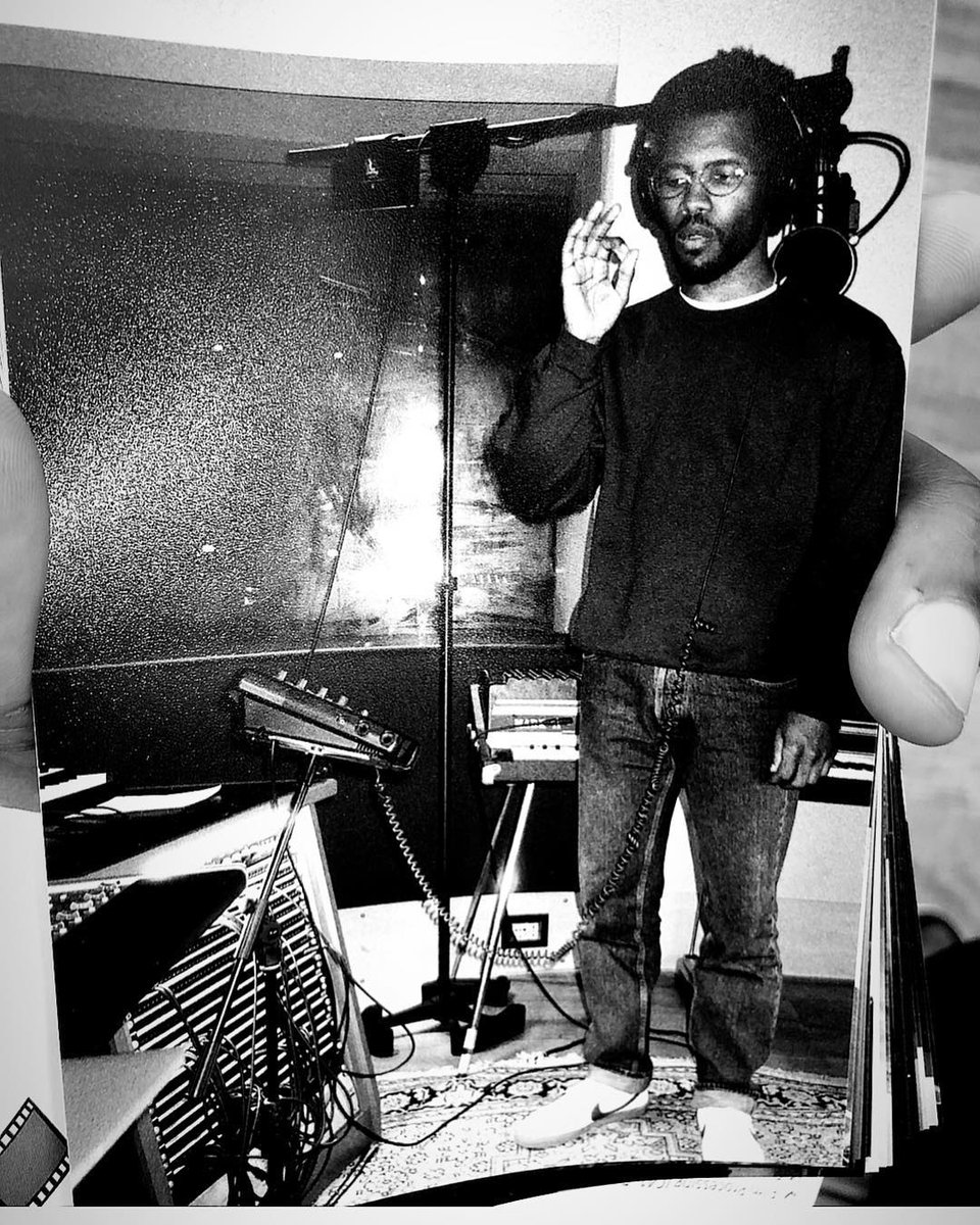 Frank Ocean in the studio 👀🙏🏾