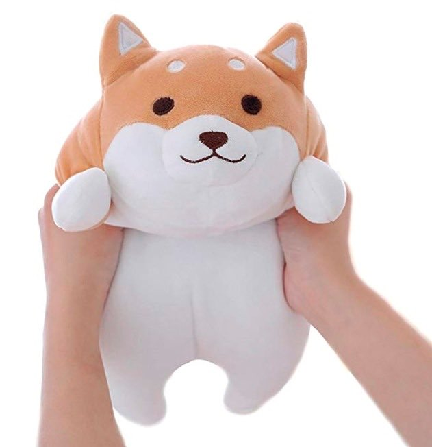 WHY do i lose my shit when they put tiny lil buttholes on shiba inu plushies <br>http://pic.twitter.com/ofL2psW8ry