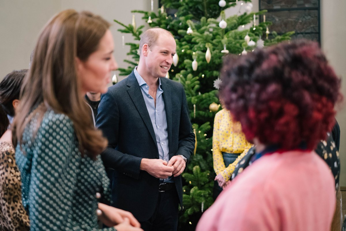 Last year over 600 clients engaged with @PassageCharity for assistance — The Duke and Duchess of Cambridge met staff and volunteers to learn more about their work linking clients into statutory services and minimising harm.