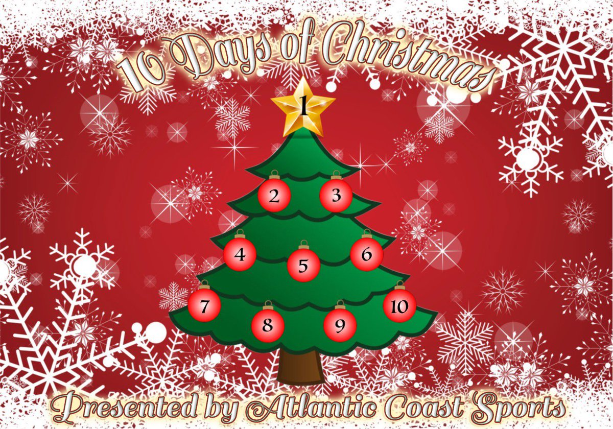 Christmas Giveaways 2019.Atlantic Coast Baseball Tournaments On Twitter The 10 Days