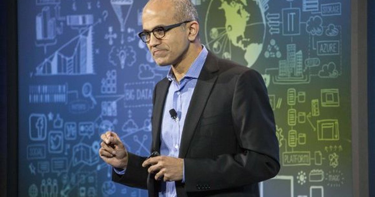 Microsoft's Satya Nadella ranked as best CEO in US; Google's Sundar Pichai, Amazon's Jeff Bezos make top 10 https://t.co/yUH1dlPbsS