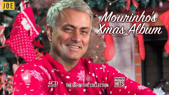 Introducing Mourinho's Christmas Album for the special one in your life...