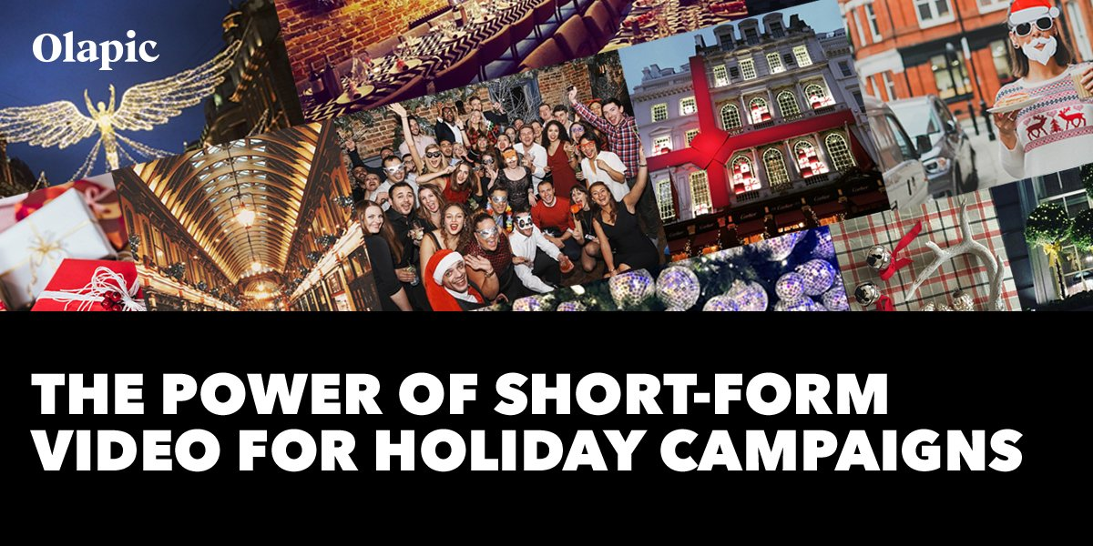 Read our report to learn how to leverage short-form video for your holiday campaigns. https://t.co/0mILVPhKMQ #videomarketing https://t.co/osSap3Uvcz