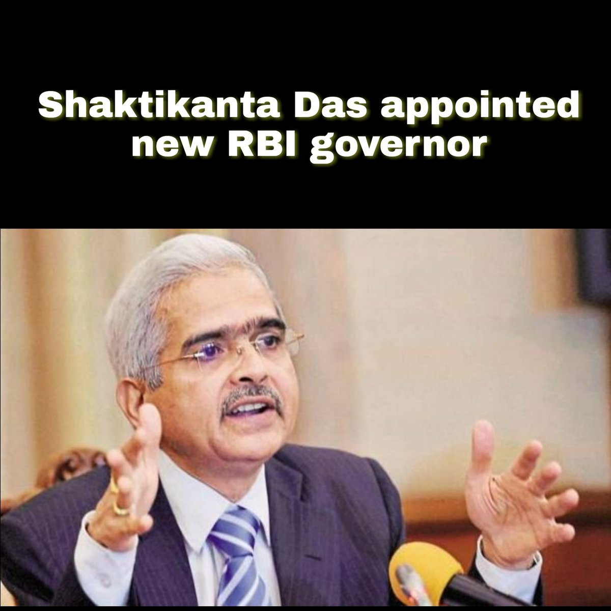 Shaktikanta Das appointed new RBI governor after Urjit Patel resigned on Monday  #ShaktikantaDas #RBI   Tag your friends and dont forget to hit like button.#navsari #navsarians #entertainmentpage #surat #comedy #hotelsinnavsari #maroli #trending Navsari 2018pic.twitter.com/wAaZkg5qfk