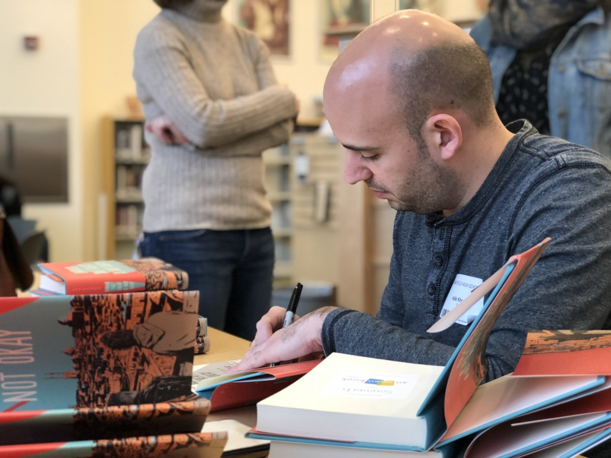 Congratulations to <a target='_blank' href='http://twitter.com/adibkhorram'>@adibkhorram</a> on being a Morris Award Finalist for <a target='_blank' href='http://search.twitter.com/search?q=DariustheGreatisNotOkay'><a target='_blank' href='https://twitter.com/hashtag/DariustheGreatisNotOkay?src=hash'>#DariustheGreatisNotOkay</a></a>.  Our students love your book! <a target='_blank' href='http://twitter.com/APSLibrarians'>@APSLibrarians</a> <a target='_blank' href='http://twitter.com/principalWHS'>@principalWHS</a> <a target='_blank' href='http://twitter.com/AOBFound'>@AOBFound</a> <a target='_blank' href='https://t.co/LIUoUg59ia'>https://t.co/LIUoUg59ia</a>