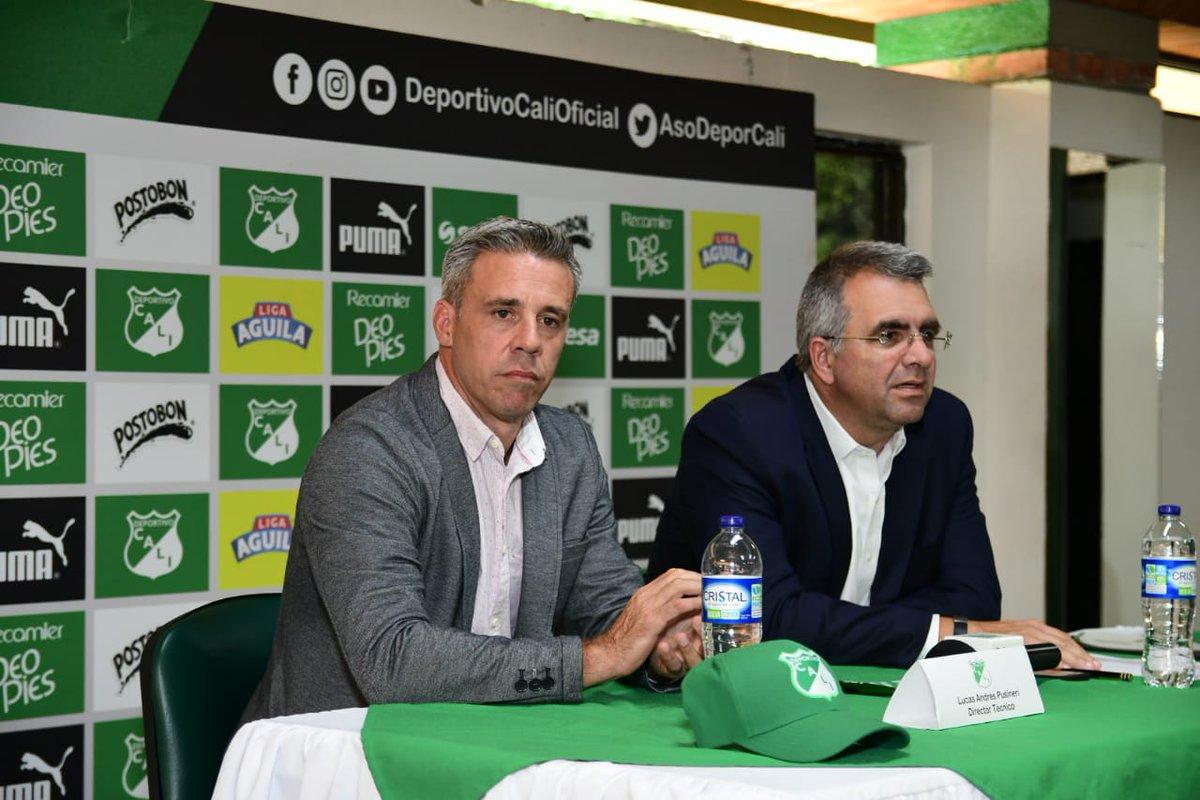 Pusineri, presentado en Deportivo Cali