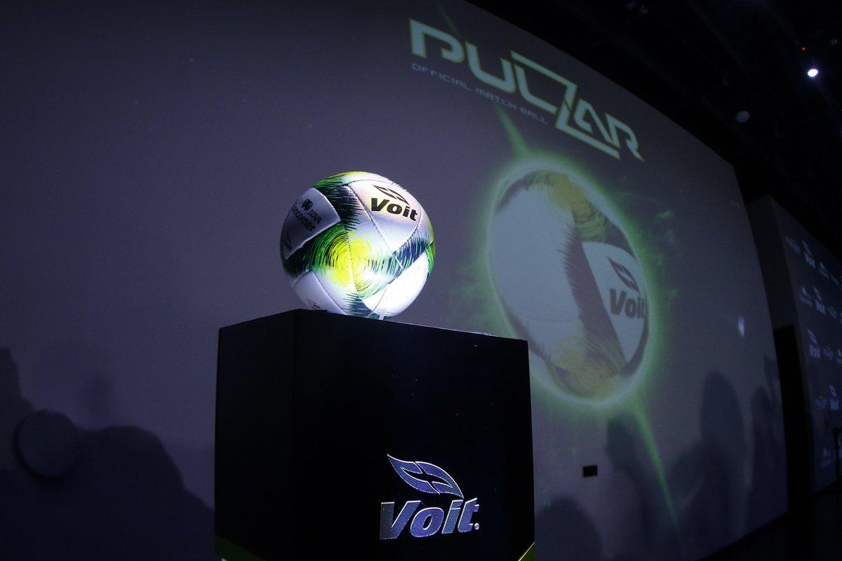 'PULZAR', el nuevo balón de la Liga MX para el Clausura 2019