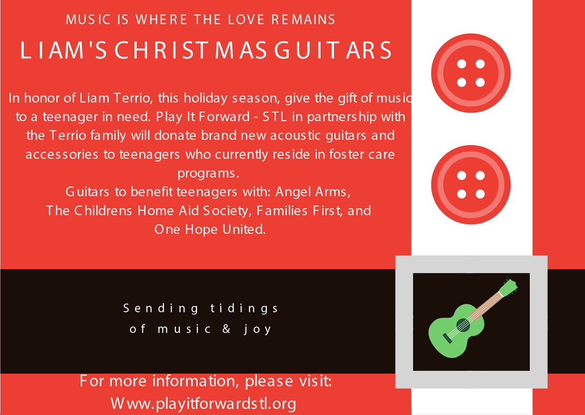 test Twitter Media - Hey music lovers! Some of our youth will be receiving holiday gifts of guitars thanks to Play It Forward, a St. Louis-based non-profit that supports teens with music and music therapy.  Play a part in bringing music to a young person's life today! https://t.co/kxz7smjYK0 https://t.co/0x4To2HZ7P